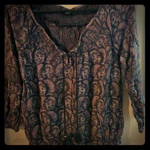 Fun blouse
